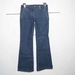 Tahari flare womens jeans size 2 Long 3634